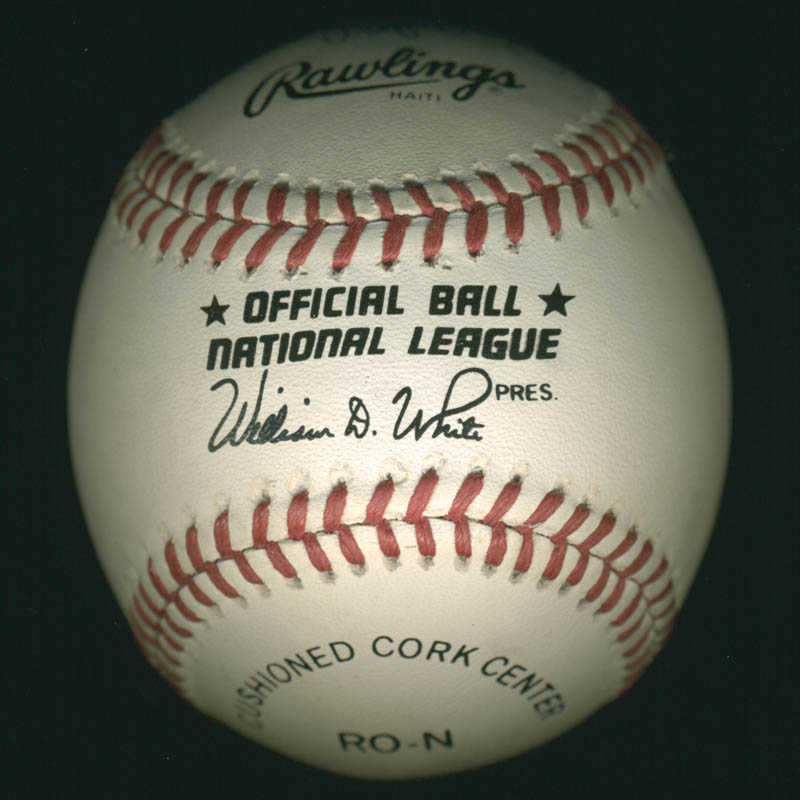 Image 4 for Jim 'Catfish' Hunter - Autographed Signed Baseball co-signed by: Juan Marichal, Bob Gibson, Bob Feller - HFSID 284781