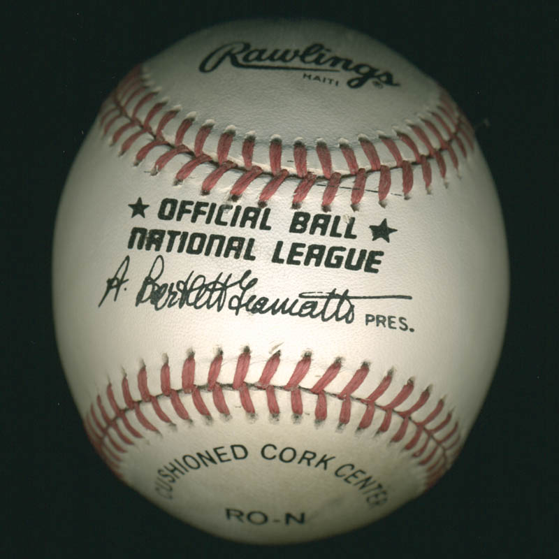 Image 5 for Hank Aaron - Autographed Signed Baseball co-signed by: Pete Rose, Nolan Ryan - HFSID 284811