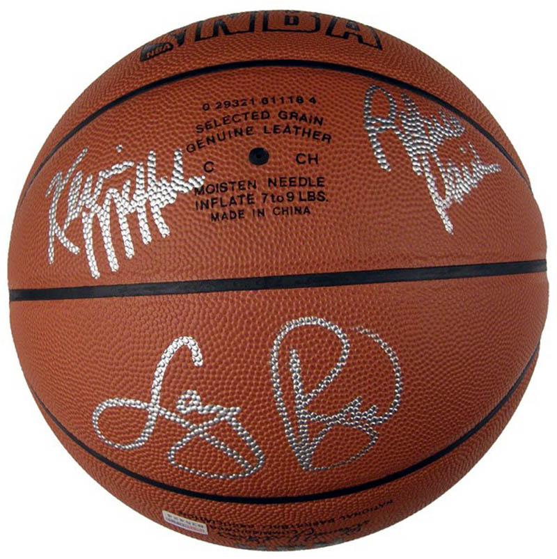 Image 3 for Boston Celtics - Basketball Signed with co-signers - HFSID 284840