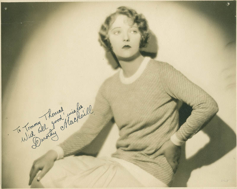 Image 1 for Dorothy Mackaill - Autographed Inscribed Photograph - HFSID 284905