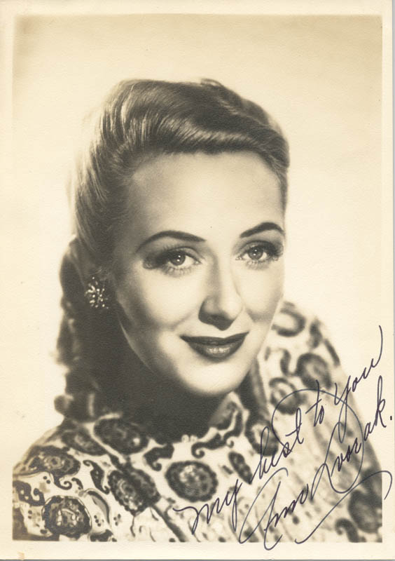 Image 1 for Ann Dvorak - Autographed Signed Photograph - HFSID 284940