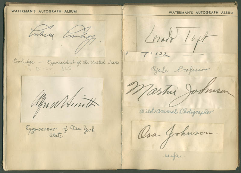 Image 4 for President Calvin Coolidge - Autograph with co-signers - HFSID 285011