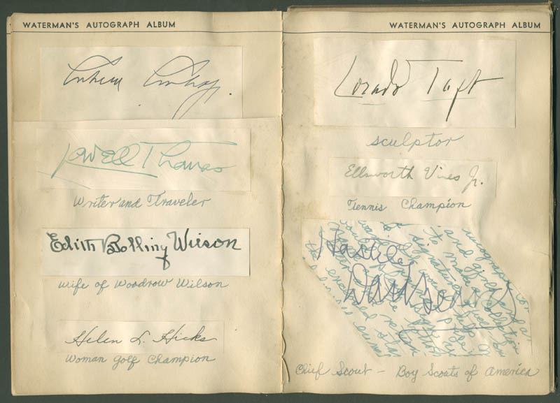 Image 5 for President Calvin Coolidge - Autograph with co-signers - HFSID 285011