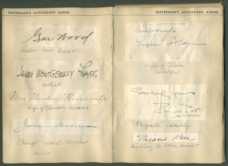 Image 6 for President Calvin Coolidge - Autograph with co-signers - HFSID 285011