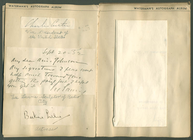 Image 8 for President Calvin Coolidge - Autograph with co-signers - HFSID 285011