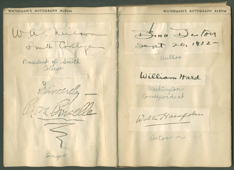 Image 10 for President Calvin Coolidge - Autograph with co-signers - HFSID 285011
