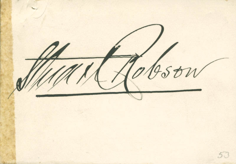 Image 1 for Stuart Robson - Autograph - HFSID 285065