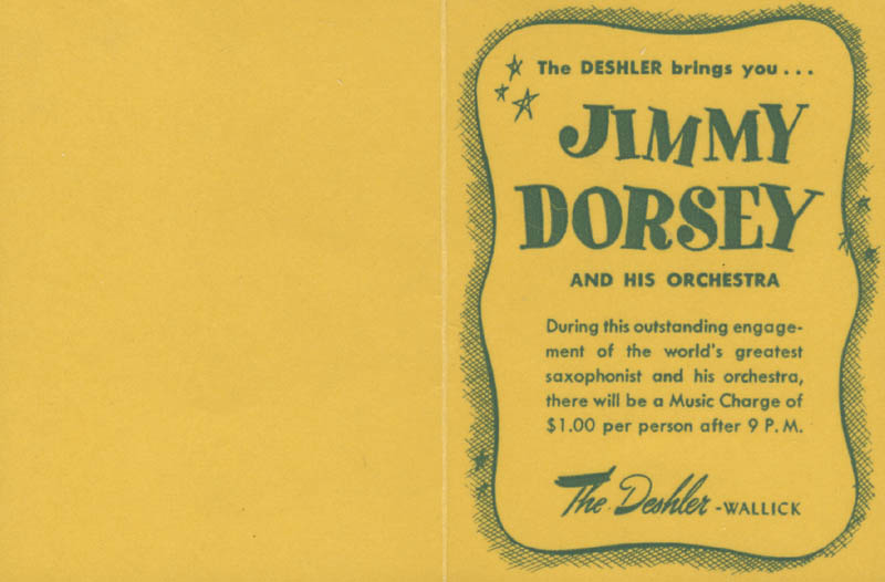 Image 3 for Jimmy Dorsey - Autograph Note Signed - HFSID 285078