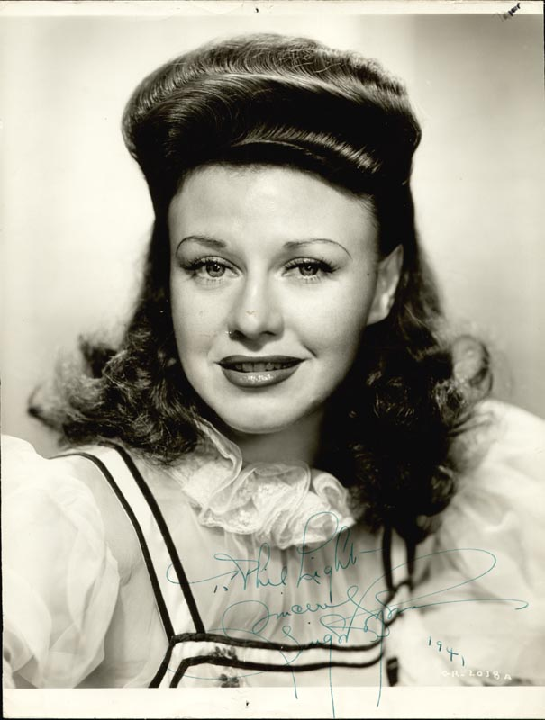 Image 1 for Ginger Rogers - Autographed Inscribed Photograph 1941 - HFSID 28513