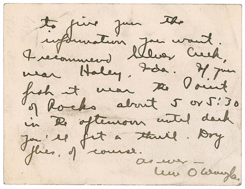Image 3 for Associate Justice William O. Douglas - Autograph Letter Signed 06/04/1947 - HFSID 285197