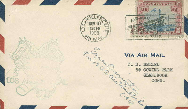 Image 1 for Earle Ovington - Commemorative Envelope Signed - HFSID 285232