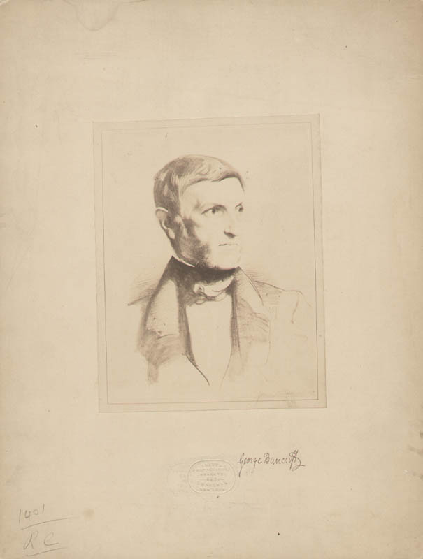 Image 1 for George Bancroft - Photograph Mount Signed Circa 1885 - HFSID 285257