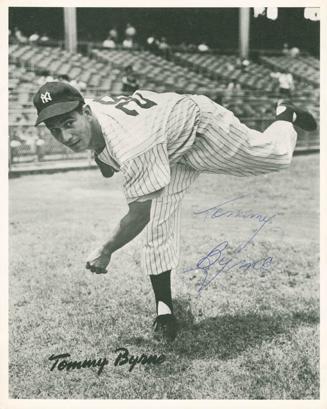 Image 1 for Tommy Byrne - Autographed Signed Photograph - HFSID 285262