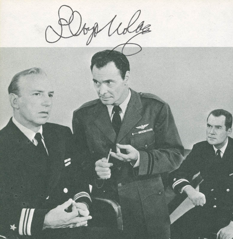 Image 1 for Lloyd Nolan - Book Photograph Signed - HFSID 285297