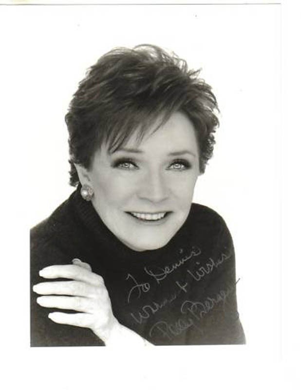 Image 1 for Polly Bergen - Autographed Inscribed Photograph - HFSID 285308