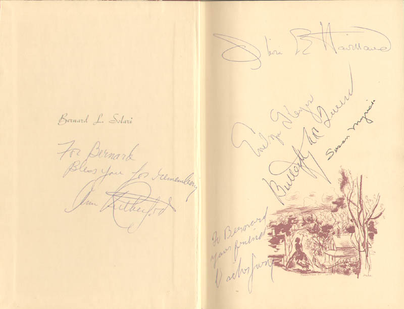Image 1 for Gone With The Wind Movie Cast - Inscribed Book Signed with co-signers - HFSID 285493