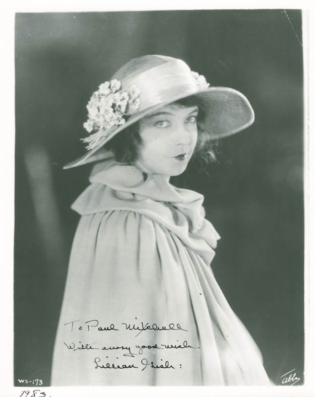 Image 1 for Lillian Gish - Autographed Inscribed Photograph Circa 1983 - HFSID 285503