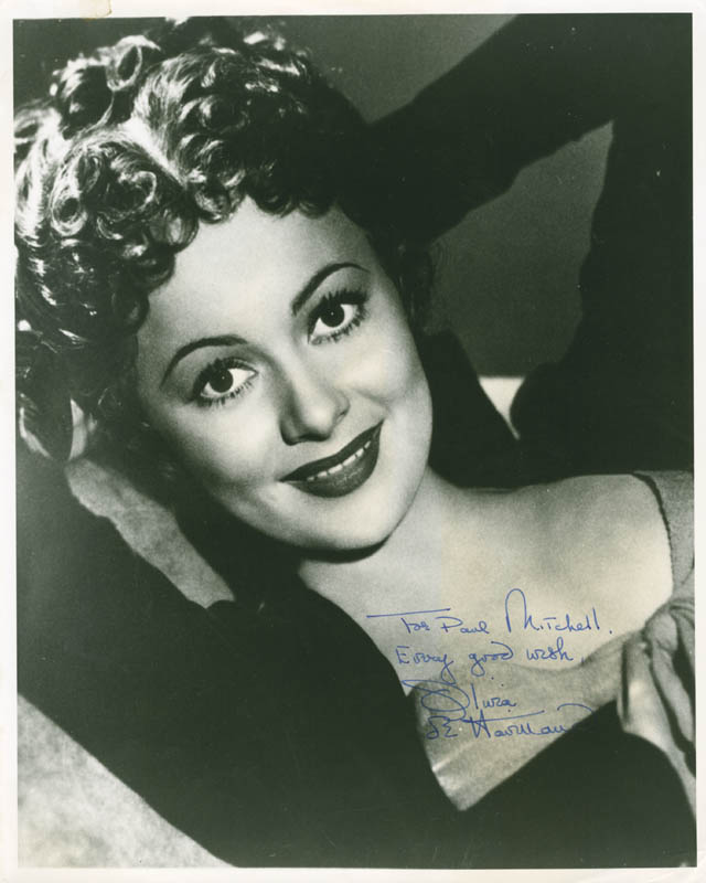 Image 1 for Olivia De Havilland - Autographed Inscribed Photograph - HFSID 285505
