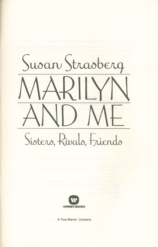 Image 4 for Susan Strasberg - Inscribed Book Signed 03/29/1992 - HFSID 285543