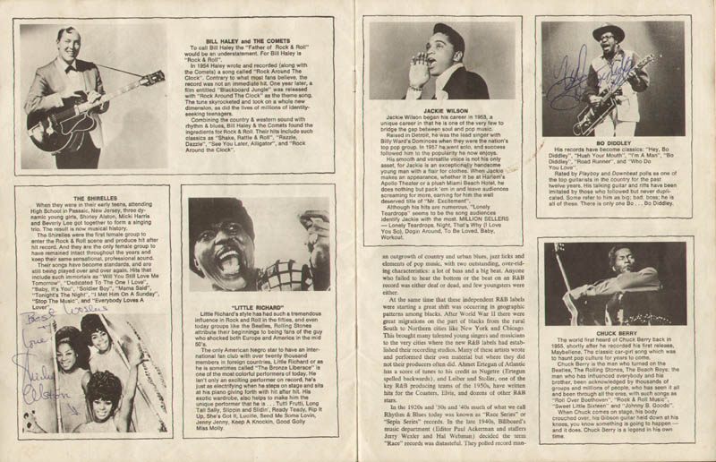 Image 4 for Bo Diddley - Article Signed with co-signers - HFSID 285557