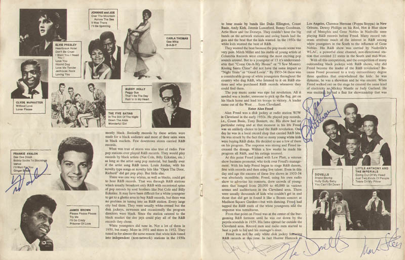 Image 7 for Bo Diddley - Article Signed with co-signers - HFSID 285557