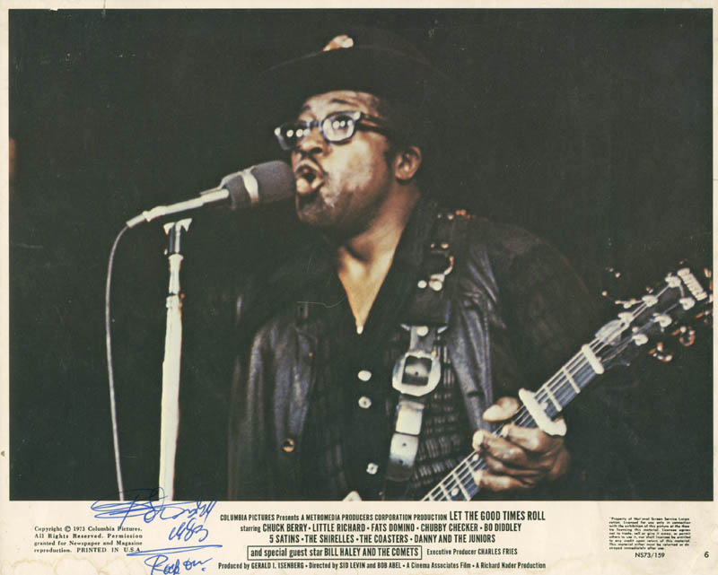 Image 1 for Bo Diddley - Autographed Signed Photograph 1983 - HFSID 285558
