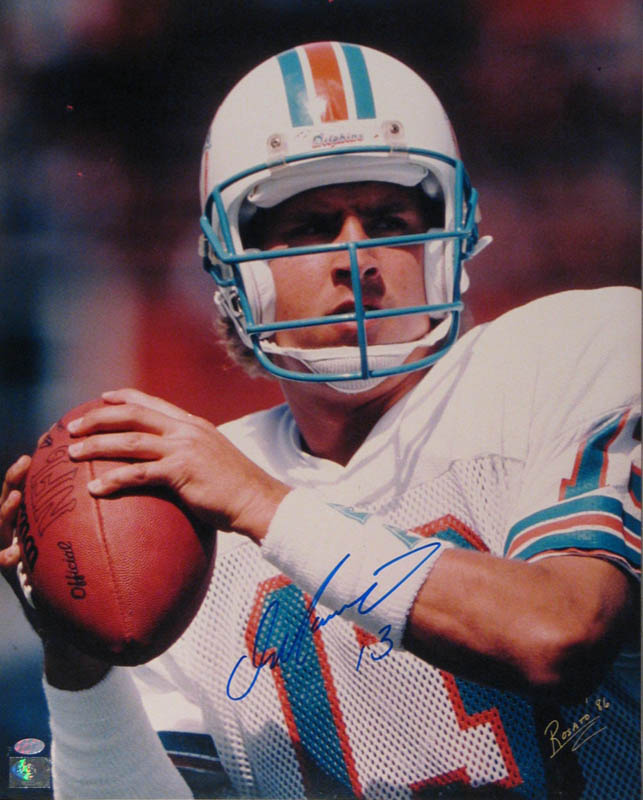 Image 1 for Dan Marino - Autographed Signed Photograph co-signed by: Bob Rosato - HFSID 285576