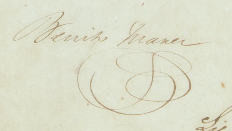 Image 1 for President Benito P. Juarez (Mexico) - Document Signed 08/08/1849 - HFSID 285823