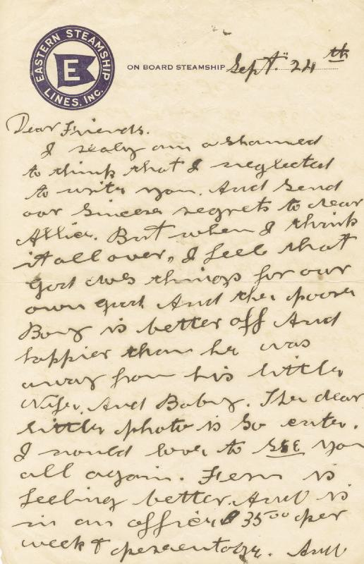 Image 3 for Annie 'Little Sure Shot' Oakley - Autograph Letter Signed 9/24 - HFSID 285930