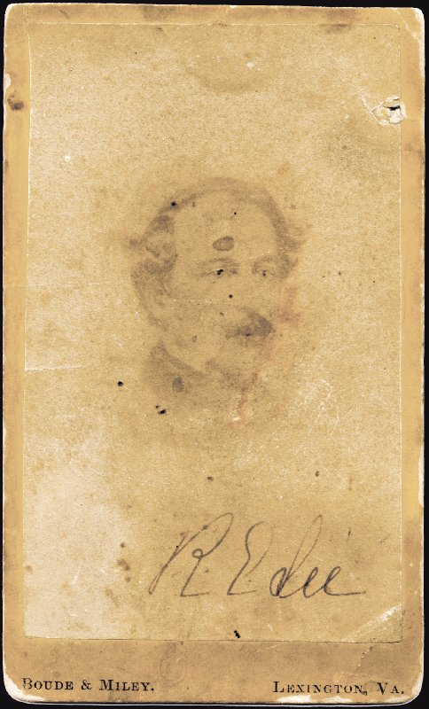 Image 1 for General Robert E. Lee - Autographed Signed Photograph co-signed by: Mary Custis Lee - HFSID 285938