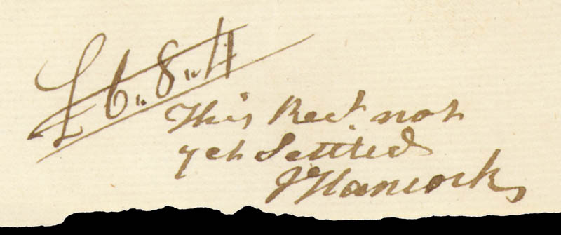 Image 1 for John Hancock - Autograph Note Signed 06/07/1772 - HFSID 285949
