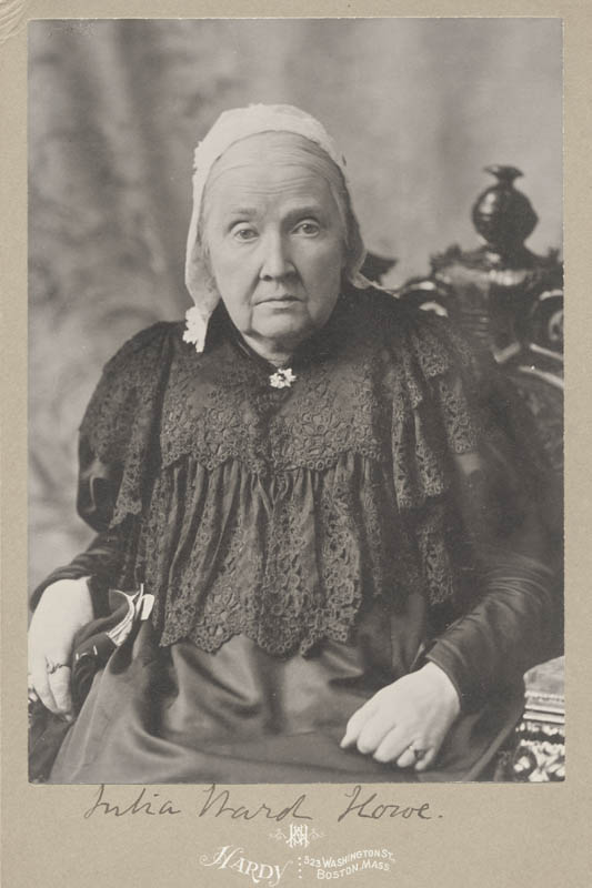 Image 1 for Julia Ward Howe - Photograph Mount Signed - HFSID 286015