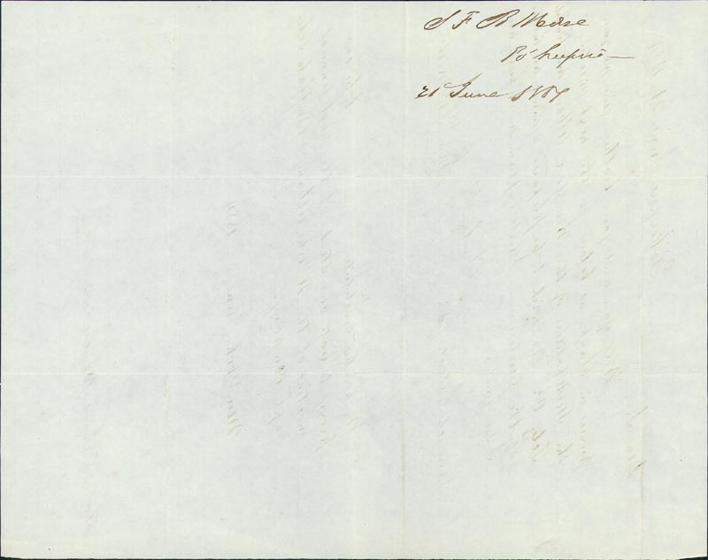 Image 3 for Samuel F. B. Morse - Autograph Letter Signed 06/21/1854 - HFSID 286038