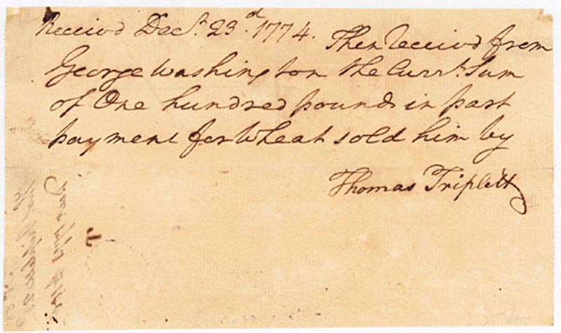 Image 1 for President George Washington - Autograph Document Signed In Text 12/23/1774 - HFSID 286074
