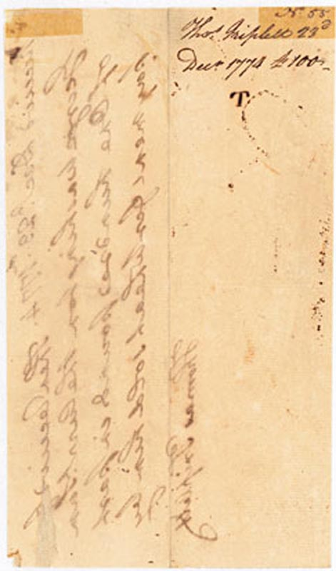 Image 3 for President George Washington - Autograph Document Signed In Text 12/23/1774 - HFSID 286074