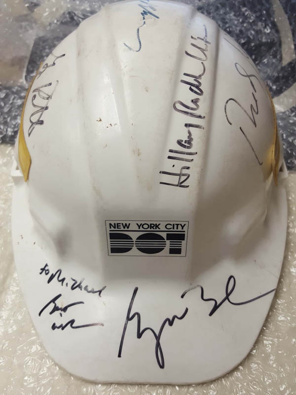 Image 1 for President George W. Bush - Helmet Signed with co-signers - HFSID 286083