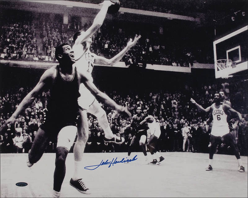 Image 1 for John Havlicek - Autographed Signed Photograph - HFSID 286206