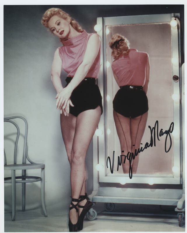 Image 1 for Virginia Mayo - Autographed Signed Photograph - HFSID 286212