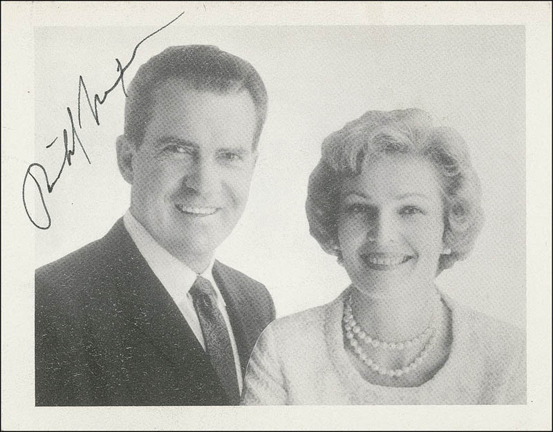 Image 1 for President Richard M. Nixon - Printed Photograph Signed In Ink - HFSID 286217