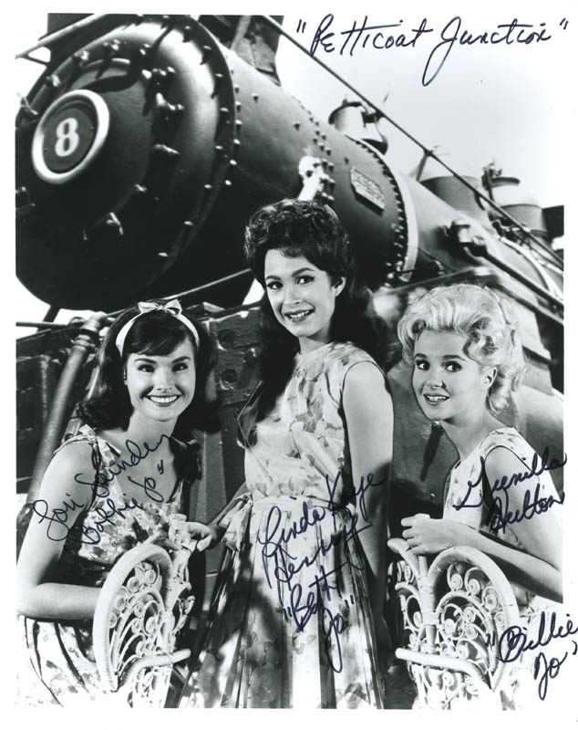 Image 1 for Petticoat Junction TV Cast - Autographed Signed Photograph co-signed by: Lori Saunders, Linda Kaye Henning, Gunilla Hutton - HFSID 286218
