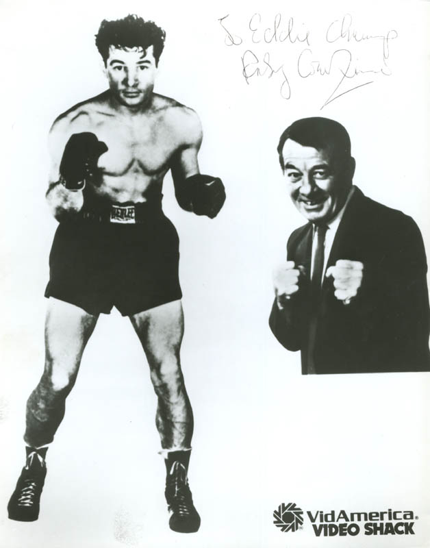 Image 1 for Rocky Graziano - Autographed Inscribed Photograph - HFSID 286235
