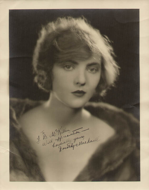 Image 1 for Dorothy Mackaill - Autographed Signed Photograph - HFSID 286268