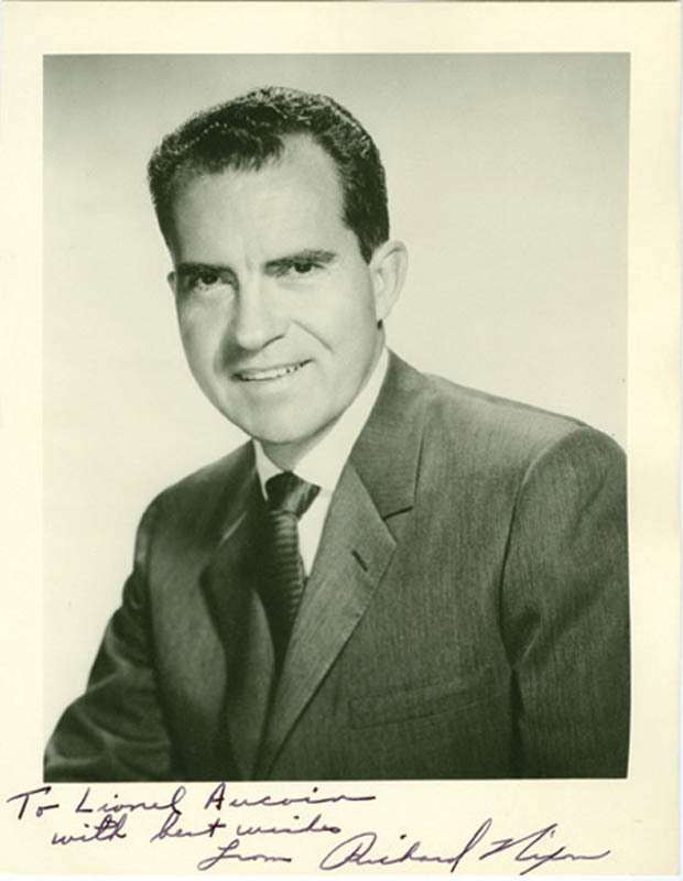 Image 1 for President Richard M. Nixon - Autographed Inscribed Photograph - HFSID 286526