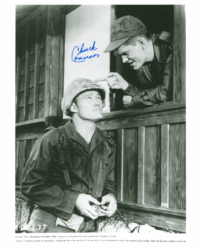 Image 1 for Chuck Connors - Autographed Signed Photograph - HFSID 286573