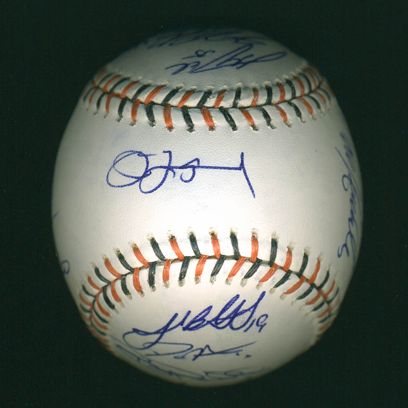 Image 1 for American League All-stars - Autographed Signed Baseball with co-signers - HFSID 286582