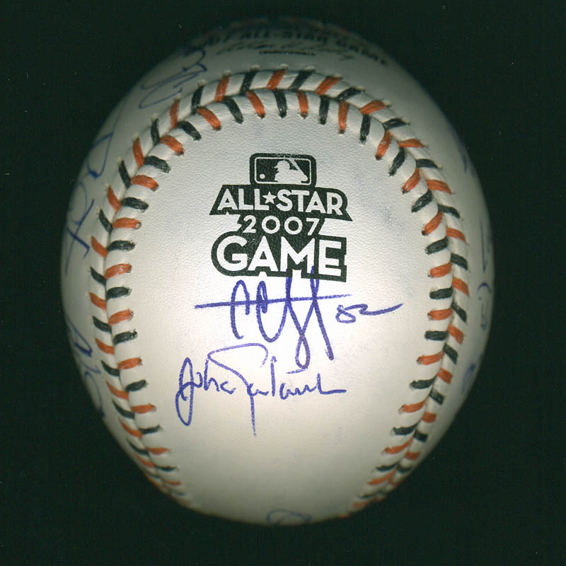 Image 3 for American League All-stars - Autographed Signed Baseball with co-signers - HFSID 286582