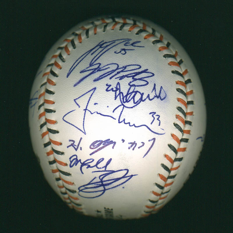 Image 5 for American League All-stars - Autographed Signed Baseball with co-signers - HFSID 286582