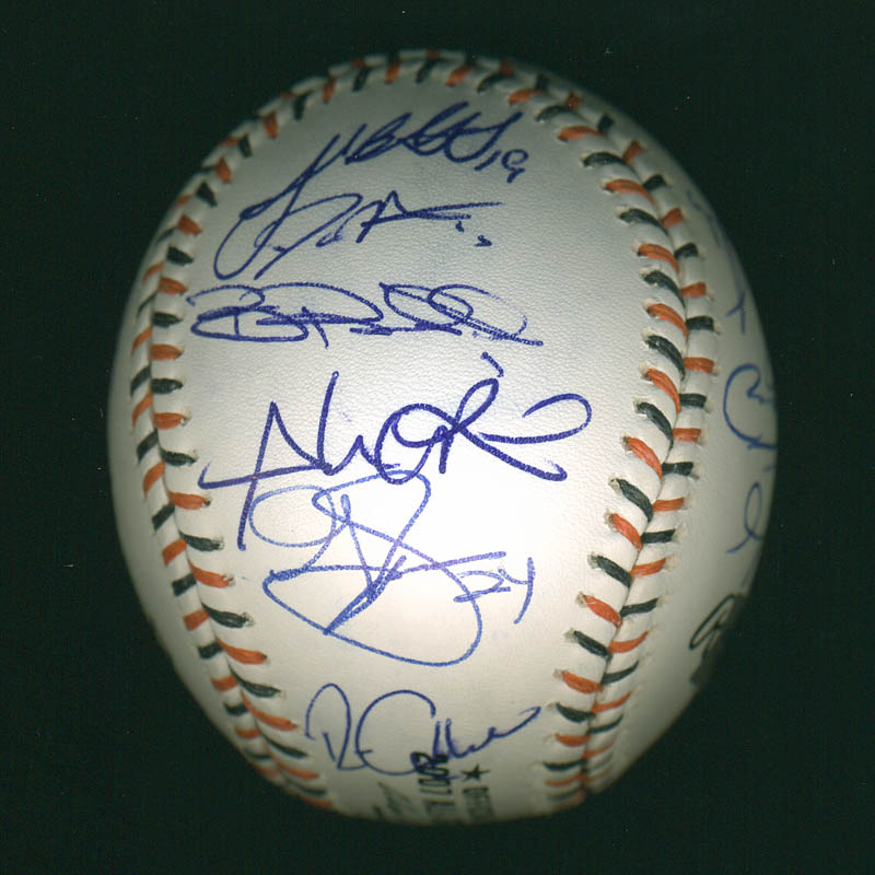 Image 6 for American League All-stars - Autographed Signed Baseball with co-signers - HFSID 286582