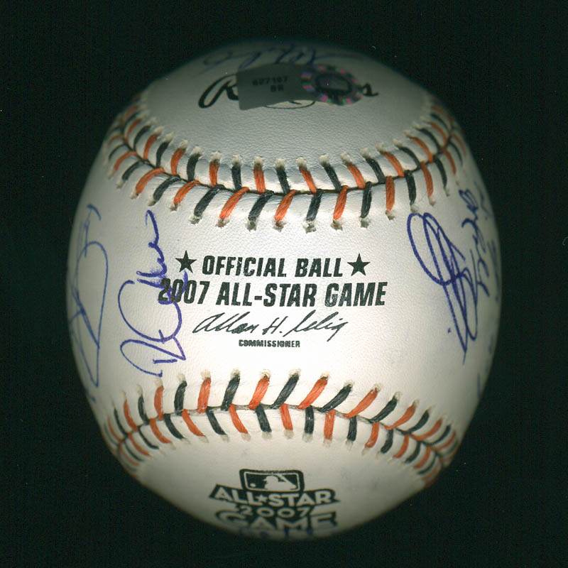 Image 7 for American League All-stars - Autographed Signed Baseball with co-signers - HFSID 286582