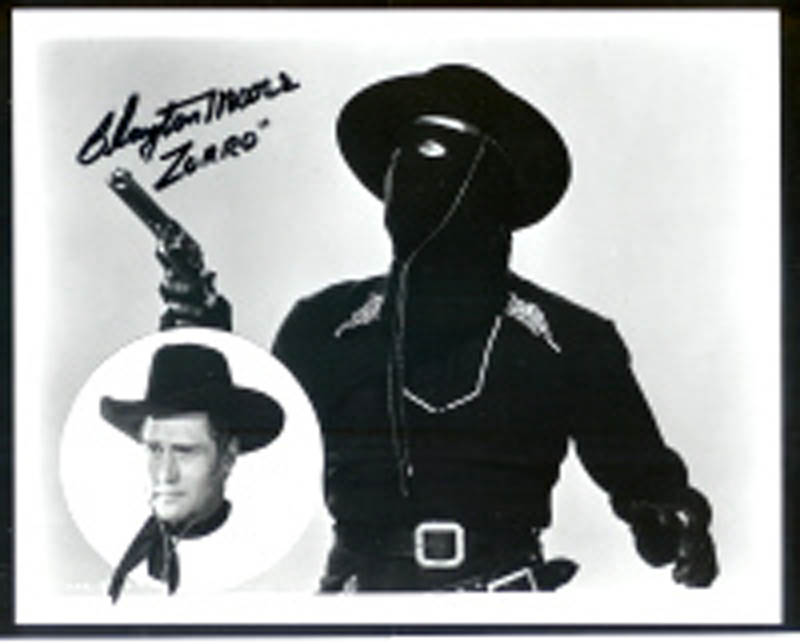 Image 1 for Clayton 'The Lone Ranger' Moore - Autographed Signed Photograph - HFSID 286583